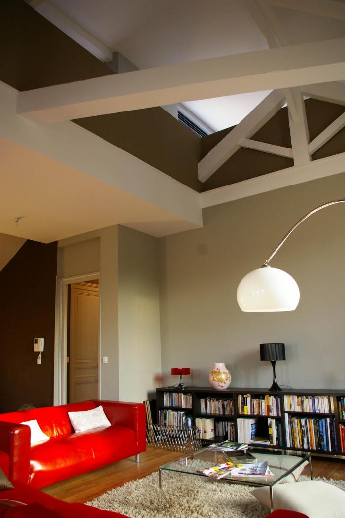 Réaménagement d'un appartement et création d'une terrasse : 57- 007