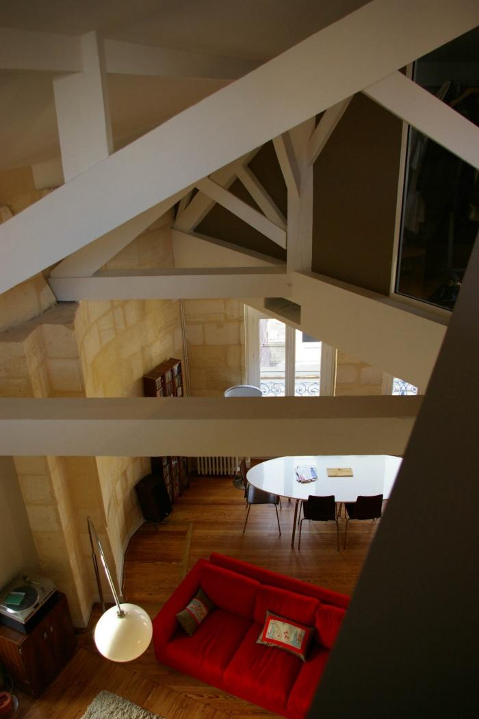 Réaménagement d'un appartement et création d'une terrasse : 57- 015