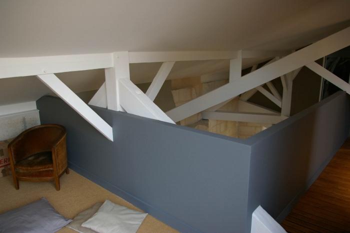 Réaménagement d'un appartement et création d'une terrasse : 57- 021