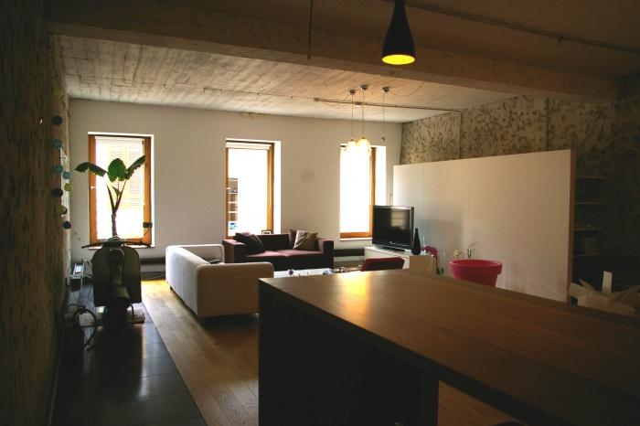 Aménagement d'un loft
