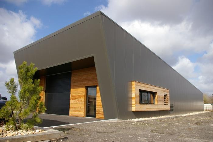 Construction d'un entrepôt et bureaux