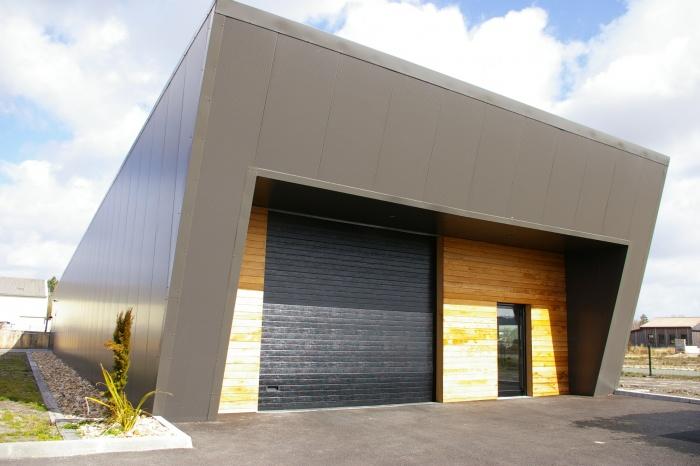 Construction d'un entrepôt et bureaux : 41-003