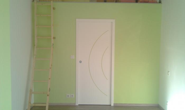 Aménagement Intérieur d'un garage : La chambre