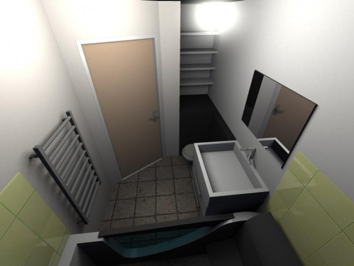 Aménagement Intérieur d'un garage : Salle de Bain