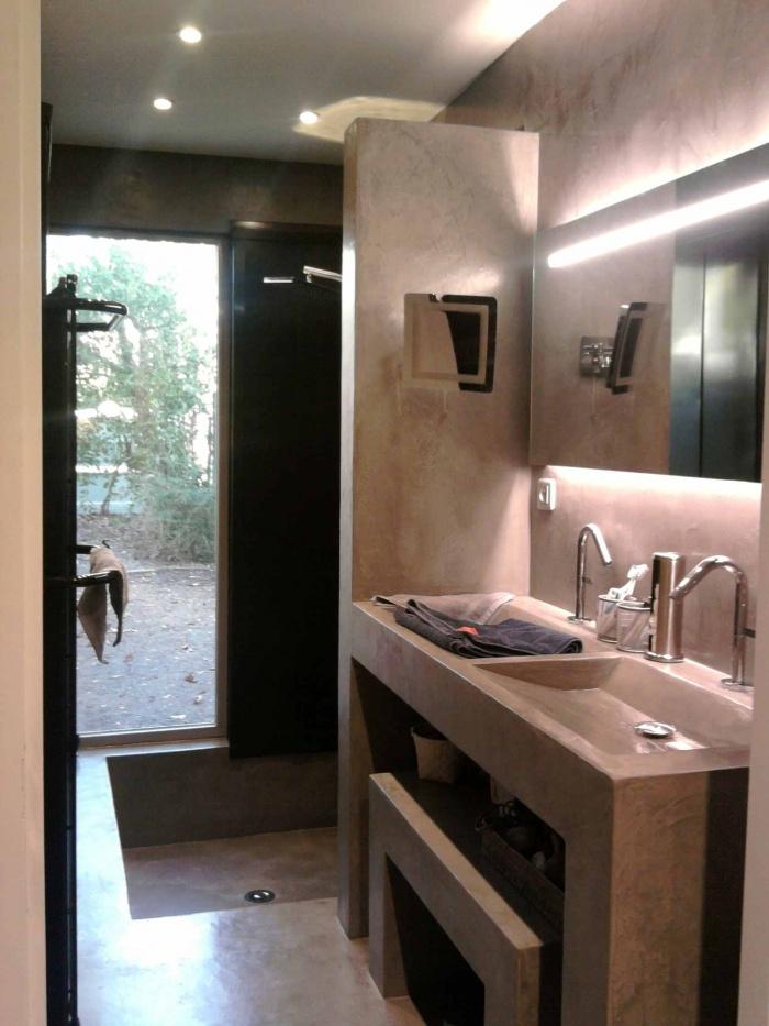 Réalisation d'une salle de bains par extension