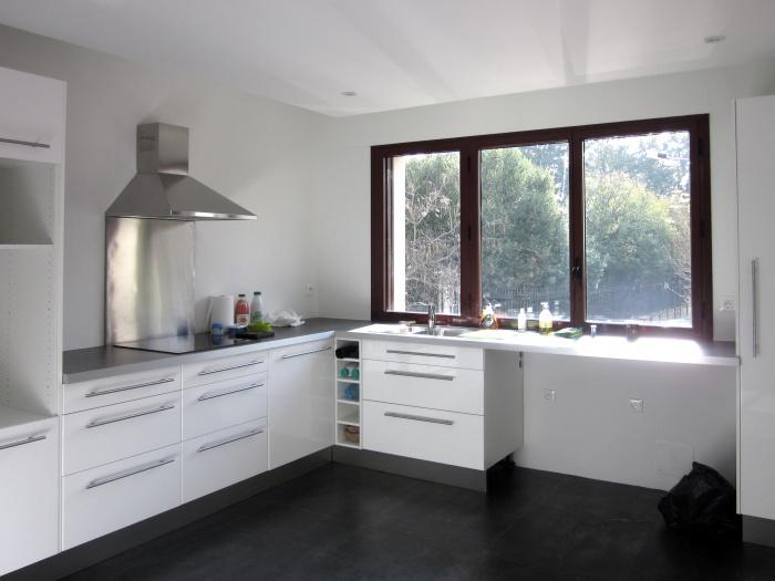 Aménagement d'un appartement avec terrasse