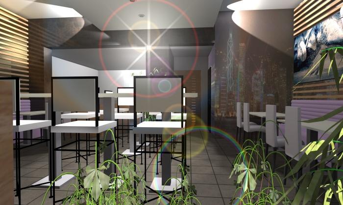 Aménagement d'un Restaurant : Restaurant 4