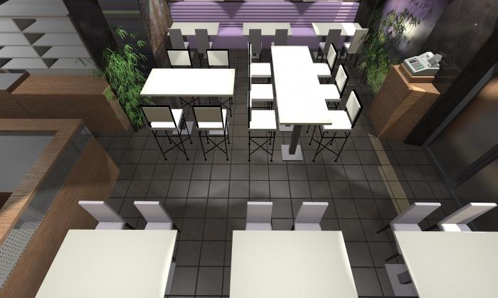 Aménagement d'un Restaurant : Restaurant 7