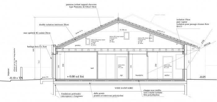 maison bbc m rignac une r alisation de ifm ma architecture. Black Bedroom Furniture Sets. Home Design Ideas