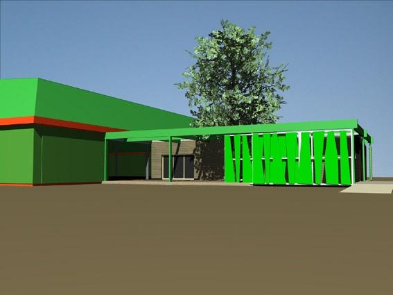 Club House, tennis club du Pian-Médoc : 724