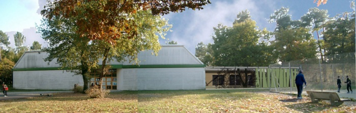 Club House, tennis club du Pian-Médoc : BELLE1