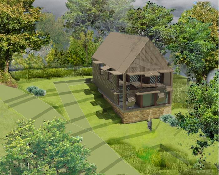 maison individuelle en Dordogne