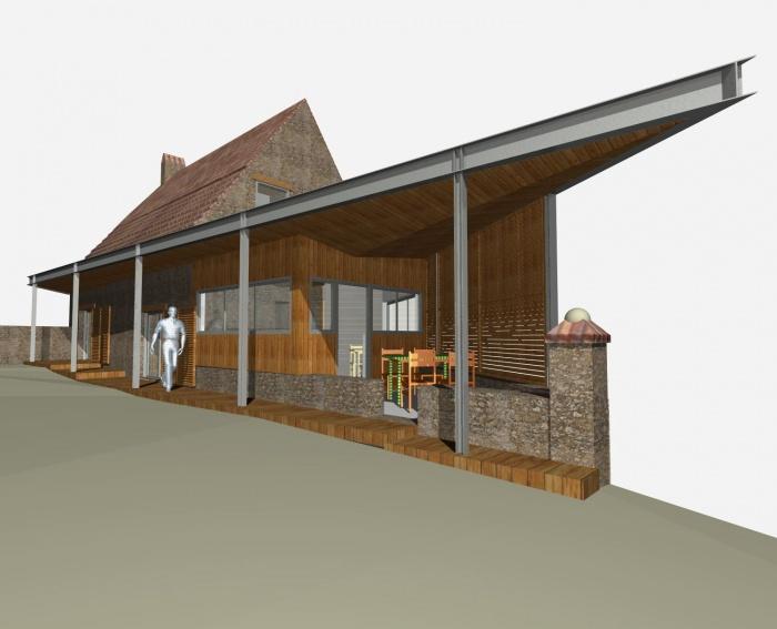 Réhabilitation d'une grange en habitation