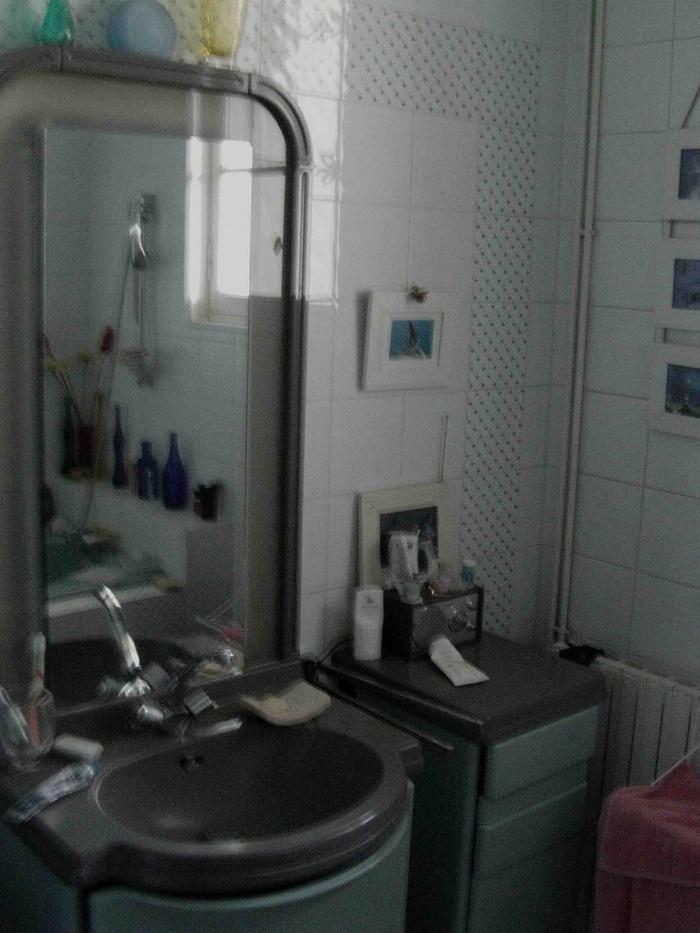 Rénovation d'une salle de bain : Vasque - Existant.JPG