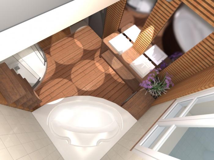 Rénovation d'une salle de bain : vue 4