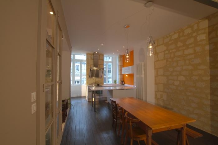 Réaménagement et rénovation d'un appartement