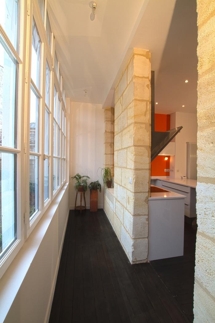 Réaménagement et rénovation d'un appartement : espace
