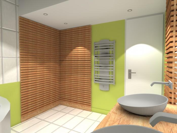 Rénovation d'une salle de bain : Pers.1