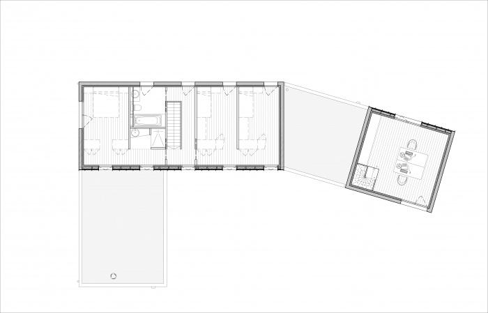Maison à Ambarès : APPEL A PROJET 308  M+A 4 R+1
