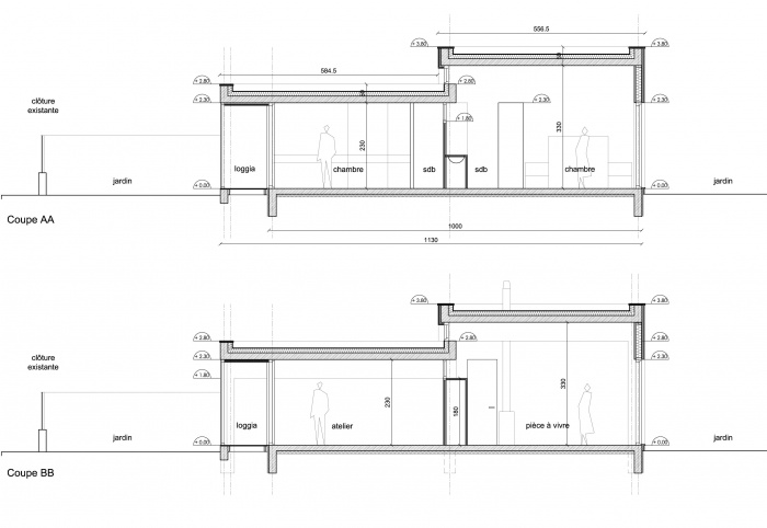 Maison à Pessac - Prix Agora 2014 : COUPES L