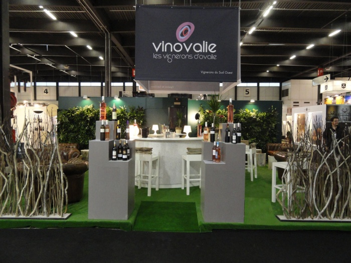 Cr ation stand vinexpo 2011 bordeaux une r alisation for Salon vegetal lyon