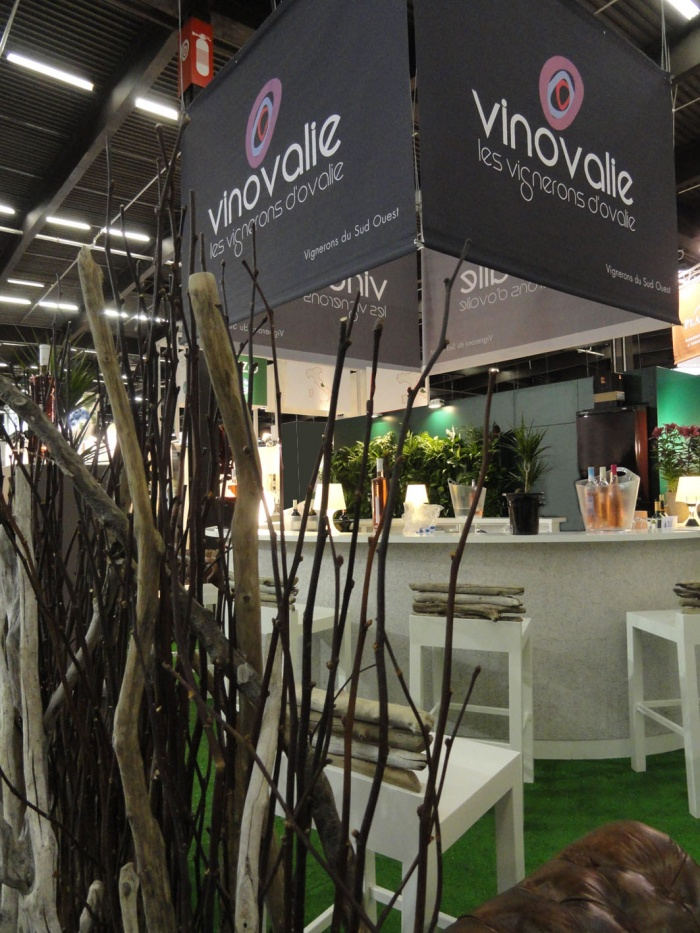 Création Stand Vinexpo 2011 : stand