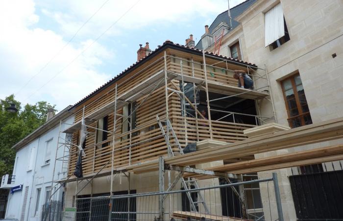 Surélévation parpaing bois pierre : 10 Bargade bis