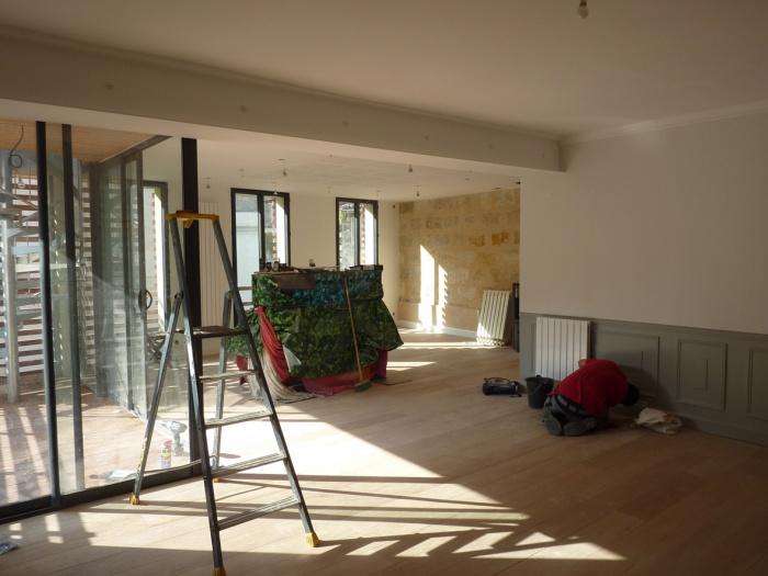 Surélévation parpaing bois pierre : 14 Intérieur 2