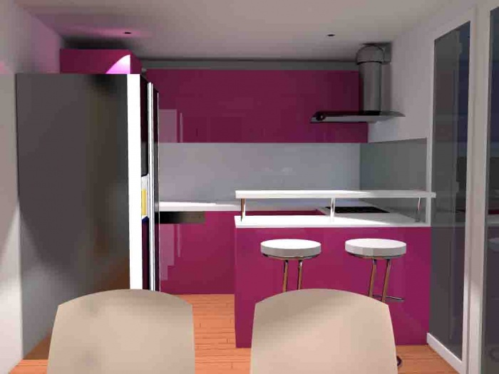 Rénovation d'une cuisine : la cuisine en image