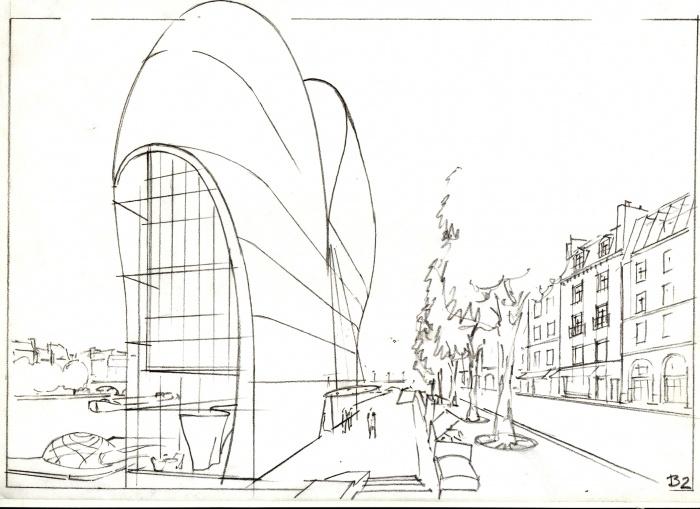 Hôtel 5 étoiles luxe - immeuble de la Samaritaine - Paris : image_projet_mini_44099