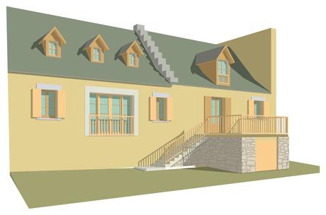 Rénovation d'une maison de montage (Pyrénées)