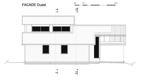 Maison individuelle            à Jouhet : Façade Ouest