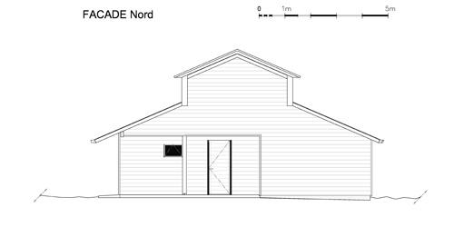 Maison individuelle            à Jouhet : Façade Nord