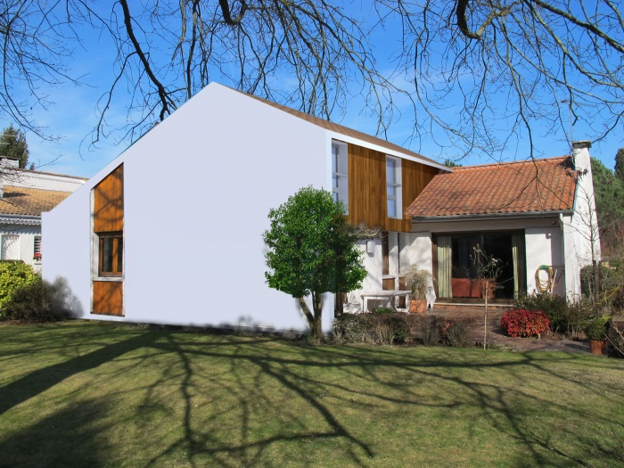 Sur l vation maison individuelle bordeaux une for Projet maison individuelle