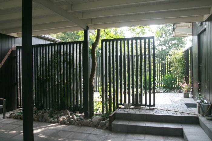 Rénovation d'un pavillon : entrée