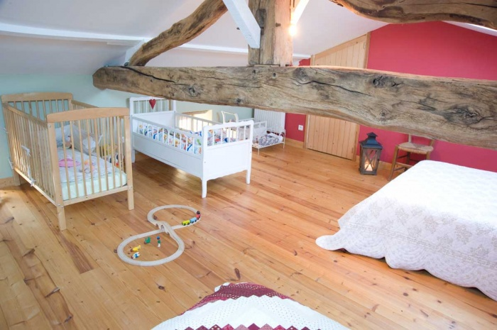 Rénovation d'une Ferme Charentaise : dortoir-c