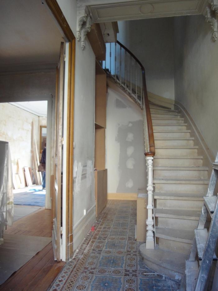 Maison de ville dépoussiérée à Bordeaux 2012 : DSC08506.JPG