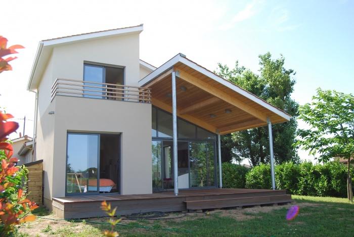 architectes extension d 39 habitation carignan de bordeaux. Black Bedroom Furniture Sets. Home Design Ideas