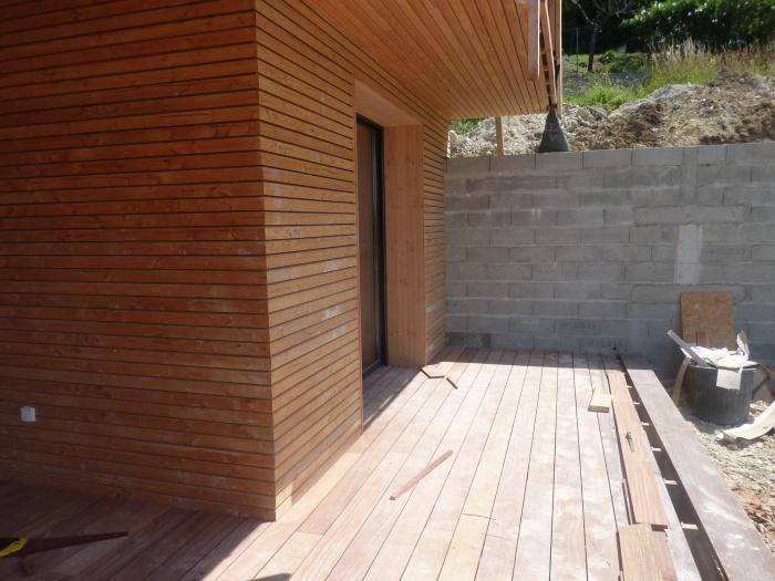 PASSIF ECOLOGIQUE CONTEMPORAIN : 30 terrasse bois