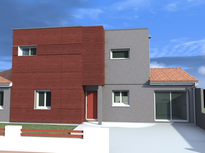 Surélévation  et rénovation d'une maison individuelle