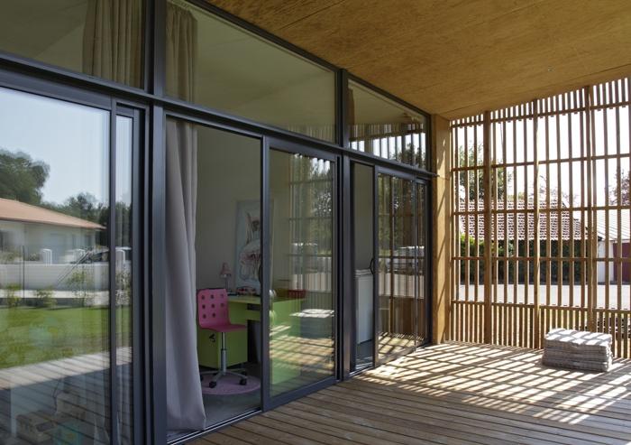 architectes maison de buch biscarrosse. Black Bedroom Furniture Sets. Home Design Ideas