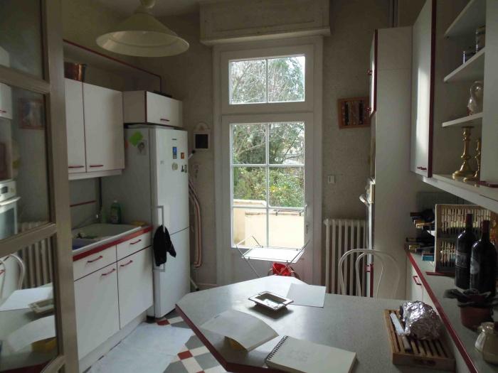 Rénovation d'une Maison de Ville et Création d'une terrasse : La cuisine EDL