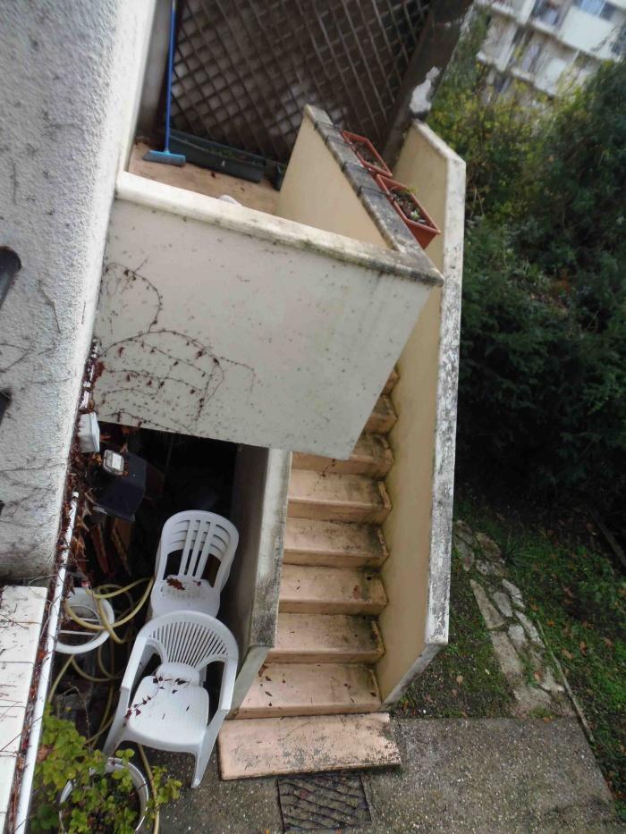 Rénovation d'une Maison de Ville et Création d'une terrasse : l\'escalier EDL