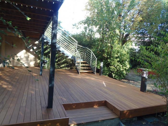 Rénovation d'une Maison de Ville et Création d'une terrasse