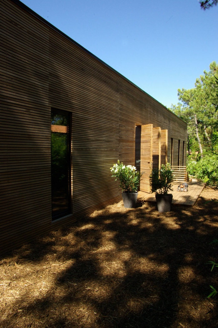 Cap Ferret  Maison contemporaine ossature bois : 12.jpg