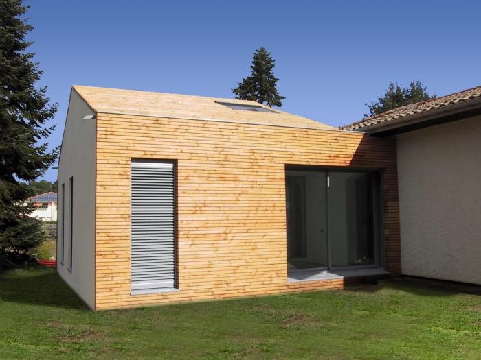 Architectes extension de plain pied saint - Idee agrandissement maison plain pied ...