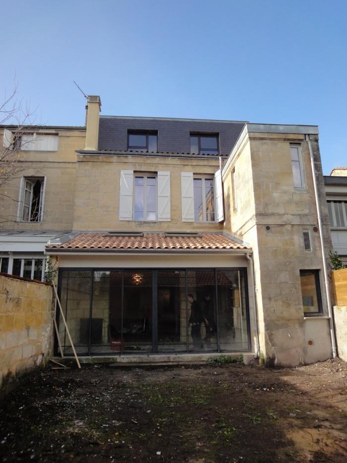Architectes echoppe new look bordeaux - Maison de ville bordeaux ...
