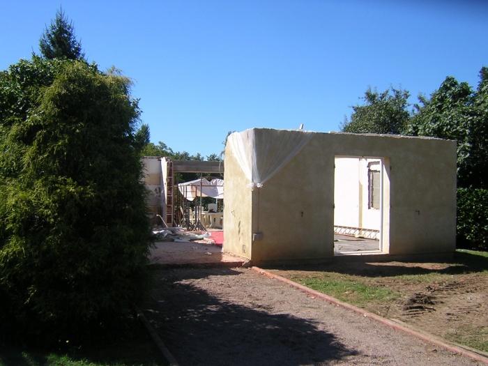Extension d'une maison individuelle : Démolition lourde