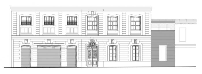 4 LOFTS : facade-D