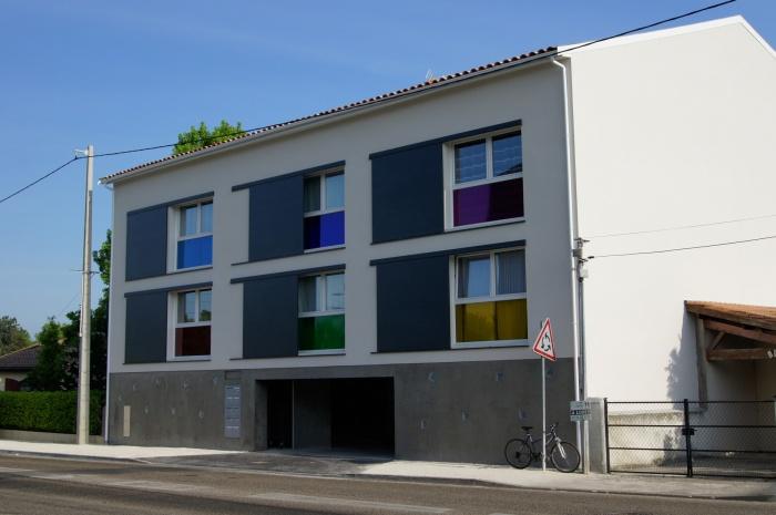 architectes immeuble collectif 10 logements pessac. Black Bedroom Furniture Sets. Home Design Ideas